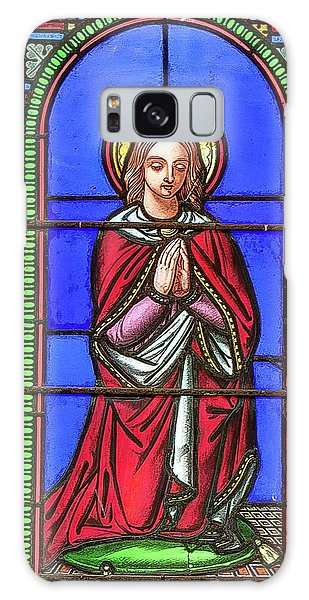 Saint Anne's Windows Galaxy Case