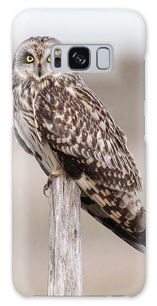Short Eared Owl Galaxy Case by Ian Hufton