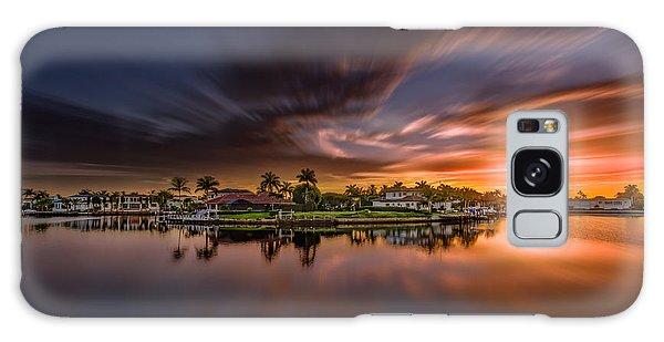 Sunrise At Naples, Florida Galaxy Case