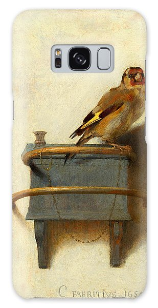 Meadowlark Galaxy Case - The Goldfinch by Carel Fabritius