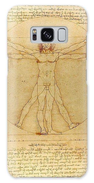 Vitruvian Man Galaxy Case