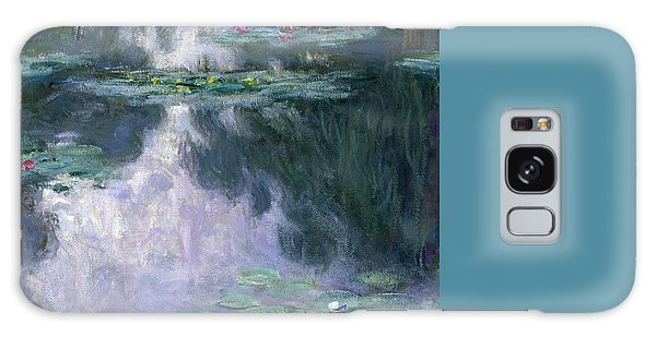 Impressionism Galaxy Case - Waterlilies by Claude Monet