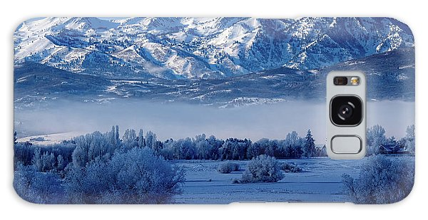 Winter In The Wasatch Mountains Of Northern Utah Galaxy Case