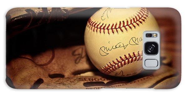 50 Home Run Baseball Galaxy Case by Mark Miller