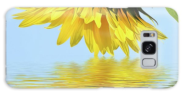 Nice Sunflower Galaxy Case