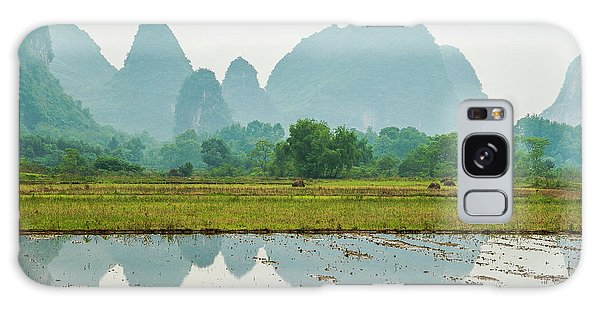 Karst Rural Scenery In Spring Galaxy Case