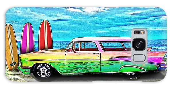 57 Chevy Nomad Wagon Best Part Of Waking Up Galaxy Case