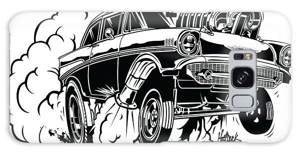 Galaxy Case - '57 Gasser Cartoon by Matt Dyck