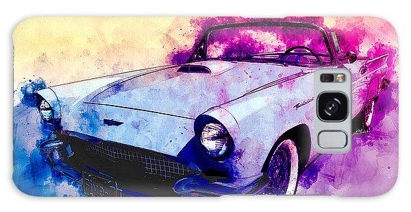 57 Thunderbird Watercolour Galaxy Case