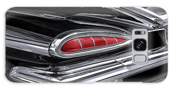 59 Chevy Tail Light Detail Galaxy Case by Gary Warnimont