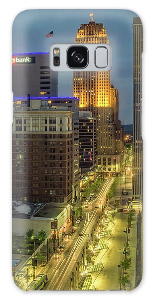 5th Street Cincinnati Galaxy Case by Scott Meyer