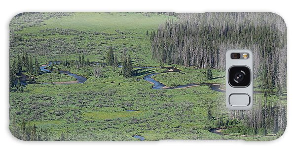 Scenery Rocky Mountain Np Co Galaxy Case