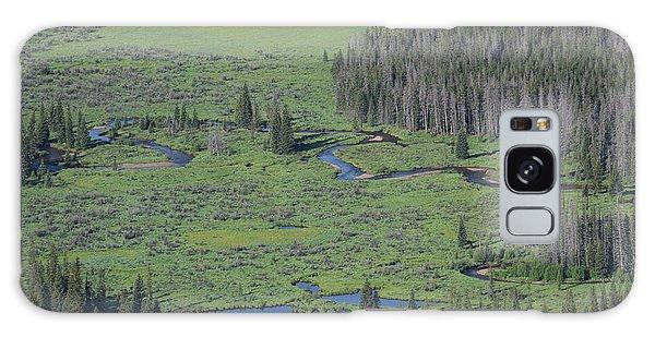Scenery Rocky Mountain Np Co Galaxy Case
