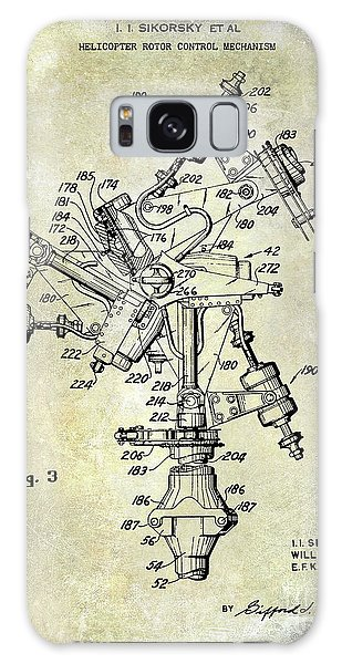 1950 Helicopter Patent Galaxy Case