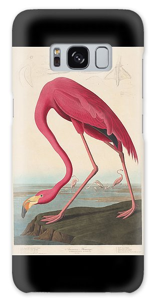 American Flamingo Galaxy Case