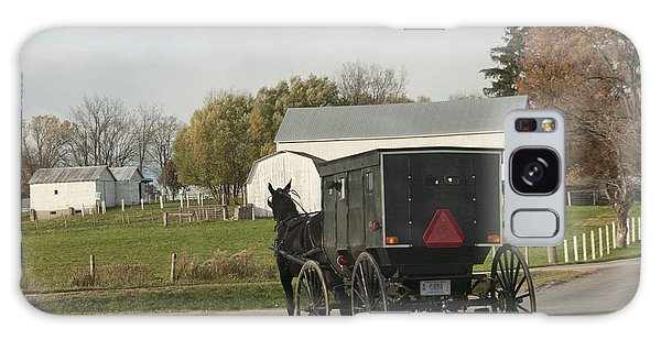 Amish Buggy Galaxy Case