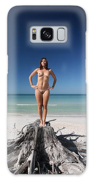 Beach Girl Galaxy Case