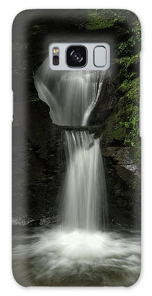 Fairy Pools Galaxy Case - Beautiful Flowing Waterfall With Magical Fairytale Feel In Lush  by Matthew Gibson