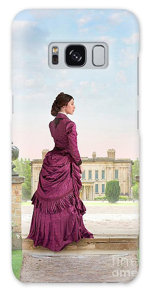 Beautiful Victorian Woman Galaxy Case