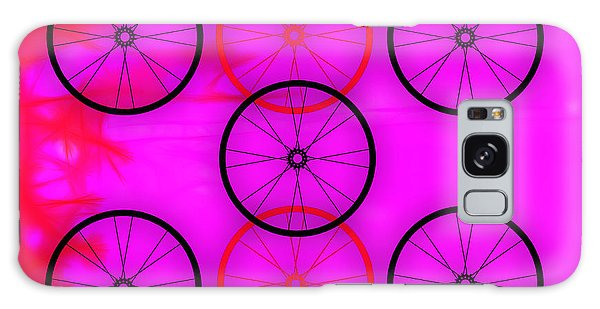 Bicycle Wheel Collection Galaxy Case by Marvin Blaine