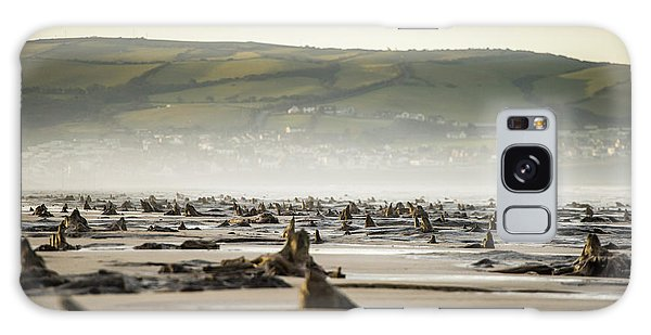 Bronze Age Sunken Forest At Borth On The West Wales Coast Uk Galaxy Case