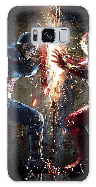 Ant Galaxy S8 Case - Captain America Civil War 2016 by Fine Artist
