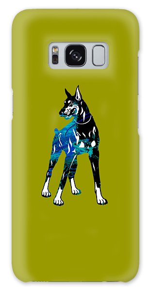 Doberman Pinscher Collection Galaxy Case by Marvin Blaine