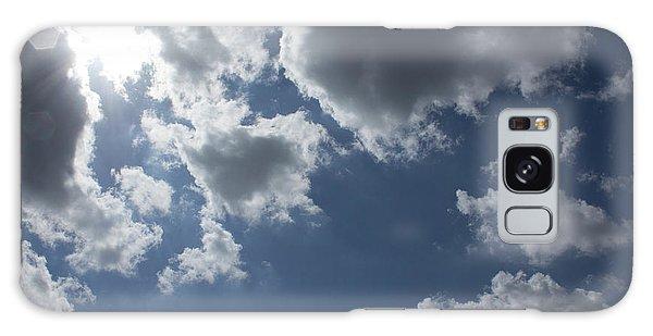 Galaxy Case featuring the photograph 6-gon Boken Sky by Megan Dirsa-DuBois