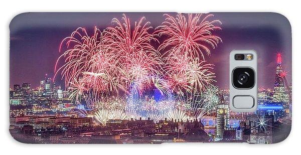 Happy New Year London Galaxy Case
