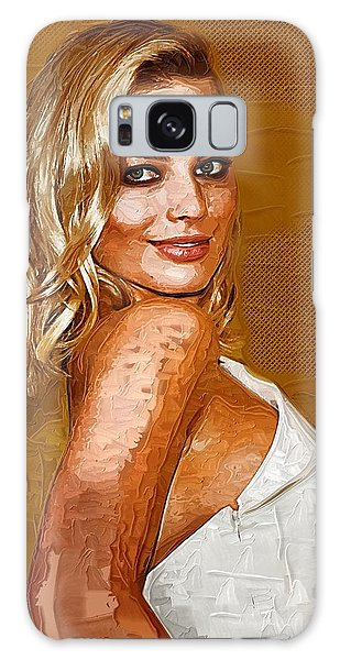 Margot Robbie Art Galaxy Case