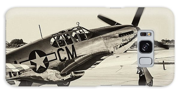 P51 Mustang Galaxy Case by Chris Smith