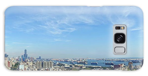Panoramic View Of Kaohsiung City Galaxy Case by Yali Shi