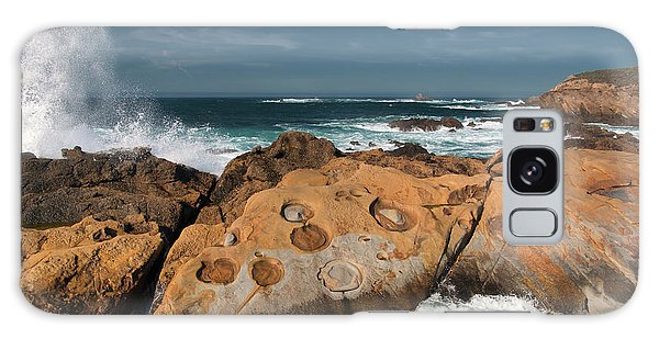 Point Lobos Concretions Galaxy Case by Glenn Franco Simmons