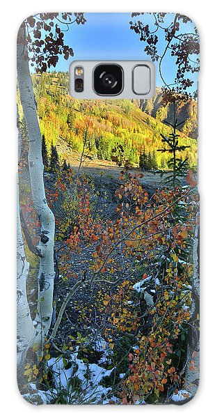 Red Mountain Pass Galaxy Case