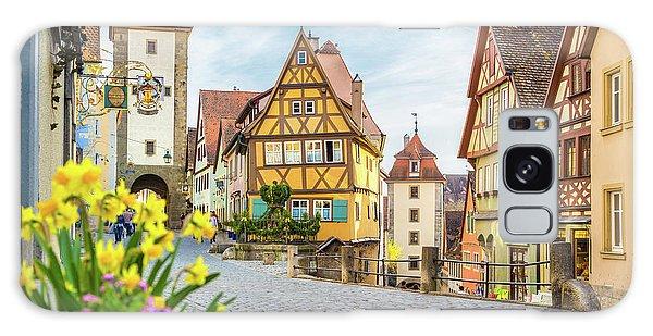 Rothenburg Ob Der Tauber Galaxy Case by JR Photography