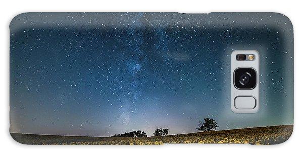 Sunflower Galaxy Galaxy Case