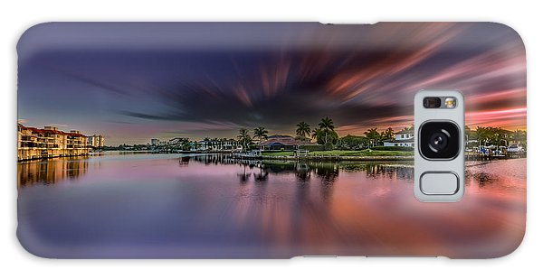 Sunrise At Naples, Florida Galaxy Case