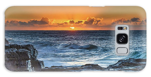 Sunrise Seascape With Sun Galaxy Case