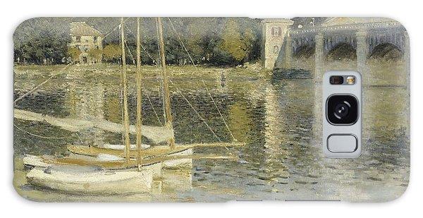 The Argenteuil Bridge Galaxy Case by Claude Monet