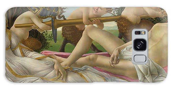 Venus Galaxy Case - Venus And Mars by Sandro Botticelli