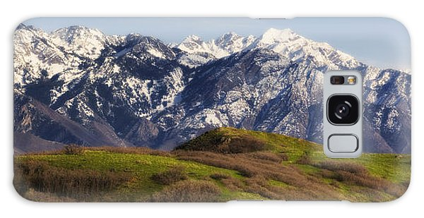 Wasatch Mountains Galaxy Case by Utah Images