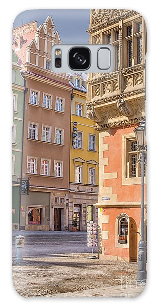 Town Square Galaxy Case - Wroclaw, Poland by Juli Scalzi