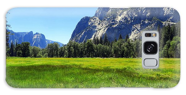 Yosemite Meadow Photograph Galaxy Case