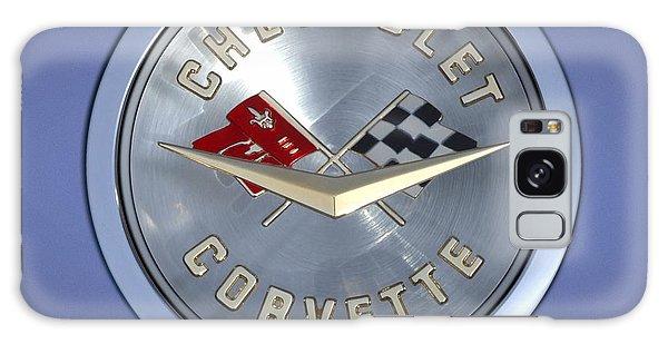 60 Chevy Corvette Emblem  Galaxy Case