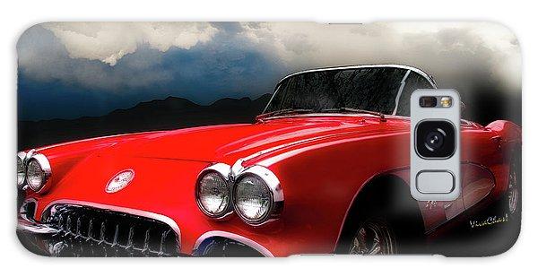60 Corvette Roadster In Red Galaxy Case