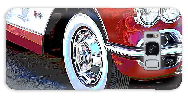 Automobile Galaxy Case - 61 Corvette by Tom Mc Nemar