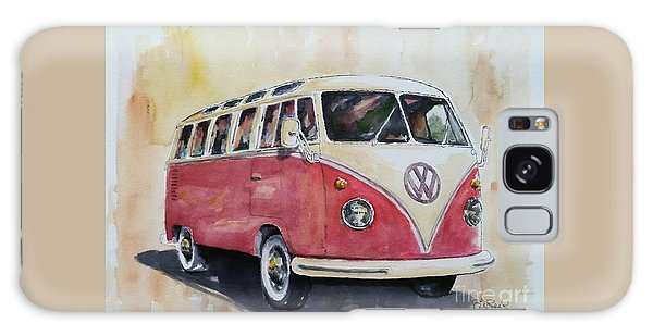 '63 V.w. Bus Galaxy Case by William Reed