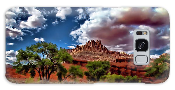 Capitol Reef National Park Galaxy Case