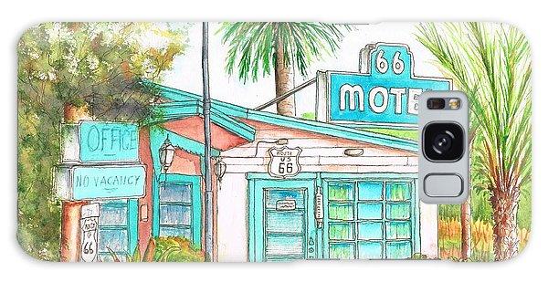 66 Motel In Needles, California Galaxy Case