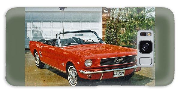 66 Mustang Convertable Galaxy Case